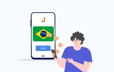 Deposito e prelievo su Exness utilizzando PIX in Brasile